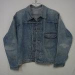 リーバイス506XX(1stジャケット) 戦前1937モデル 1枚生地の袖 平織りのセルビッチ