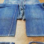 リーバイス501XX ビンテージジーンズ 裾上げアタリ出し加工 2本紹介 動画の紹介あります。
