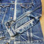 UES(ウエス)のGジャン ソデの 巻き縫い部分 を解体リペアしました!