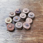リーバイス大戦モデル復刻 TバックGジャン 1900年代初頭のアンティークリベットを移植! 鉄製Sカン月桂樹ボタンカスタム