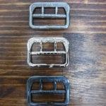 ユリの紋章バックル(通称 ユリバックル)SOLIDE製 鉄素材 復刻 3タイプ 少量入荷しました!