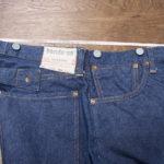 受注生産オリジナルジーンズ Lot1908モデル サイズの計測方法
