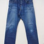 hands-on オリジナルジーンズ 3rdモデル(初期の12オンスデニム) 自分で穿き込み約2年です。