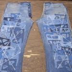 3部作(2/3) リーバイス501XX ビンテージ 革パッチ オーバーホールリペア&お任せリメイク、スペシャル版 解体リペア、リメイク作業&再構築