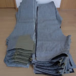 新作ジーンズS66(TP) 量産は残業しながら自分で縫っています!(制作動画あります)