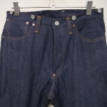 受注生産オリジナルジーンズ Lot1908モデル サイズ表とサイズ展開について
