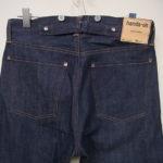 受注生産オリジナルジーンズ Lot1908モデル 工賃とオプション加工の案内