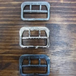 ユリの紋章バックル(通称 ユリバックル)SOLIDE製 鉄素材 復刻 3タイプ 交換します(BASE販売も行っております)